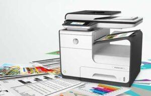 HP printer prints blank pages ink cartridge