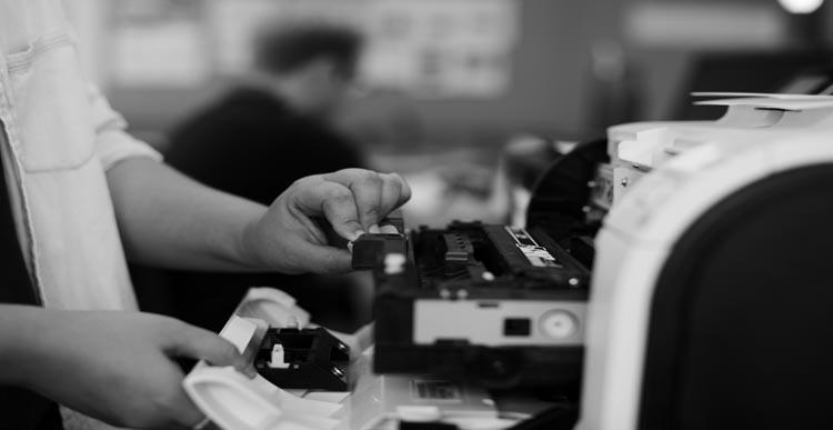 Extend life of ink cartridge in printer