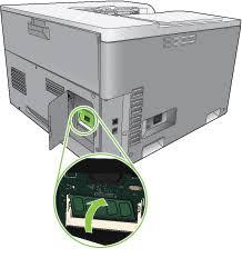 What is printer memory