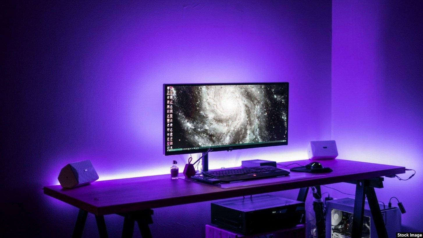 Color-Changing LED light panels