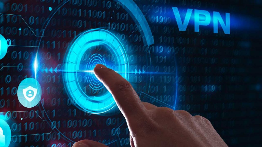 Which VPN protocol leverages web-based applications