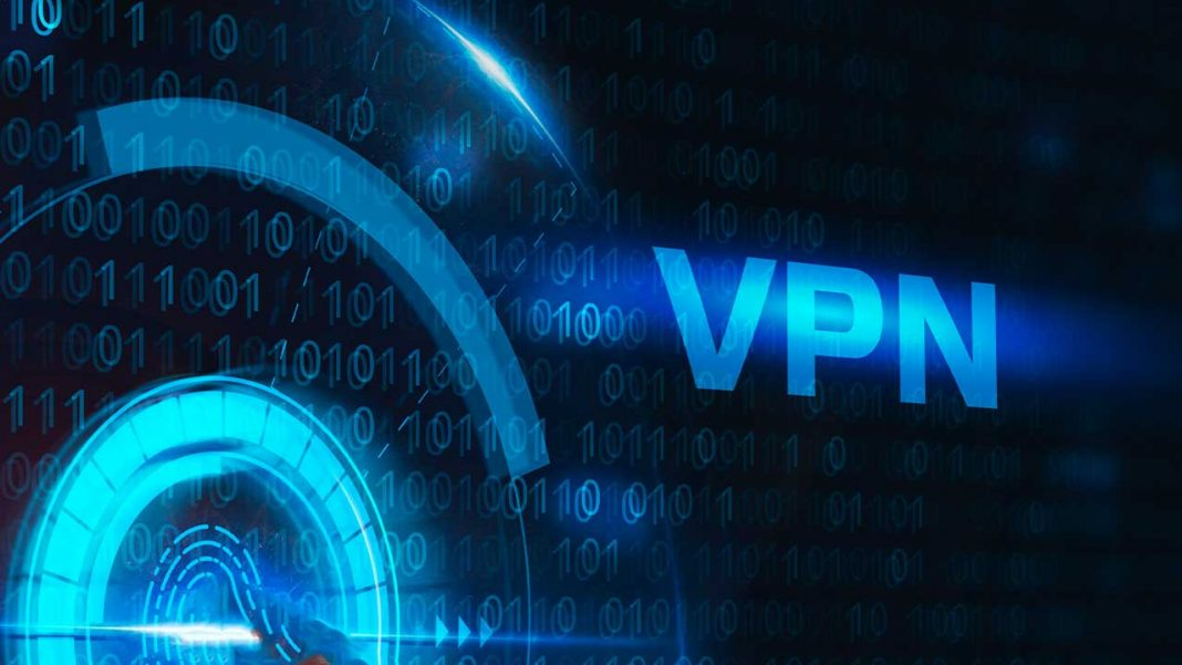Which VPN topology is also known as a hub-and-spoke configuration